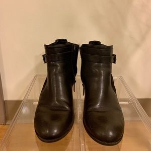 Anne Klein ankle booties